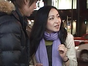 Foxy Asian milf toyed before a wild fuck
