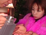 Karen Ichinose amazing Asian porn show in POV scenes picture 5