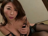 Busty Ayumi Shinoda provides naughty toy porn scenes picture 13