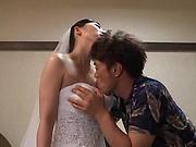 Hot milf Tanihara Yuki enjoys hot wild sex