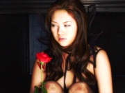 Perky tits model gets fucked in harsh POV show