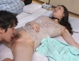 Sophia Takigawa fucked and made to swallow jizz picture 14