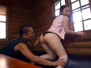 Sexy chick Takashima Heki loves doggy shag