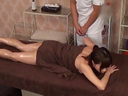 chubby big tit asian babe given a smooth massage
