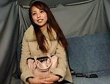 Hot Japanese AV Model pleasures herself with a toy picture 11