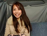 Hot Japanese AV Model pleasures herself with a toy picture 13