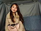 Hot Japanese AV Model pleasures herself with a toy