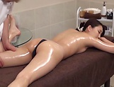 Hot beauty getting an explicitly arousing massage picture 51