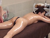 Hot beauty getting an explicitly arousing massage picture 52