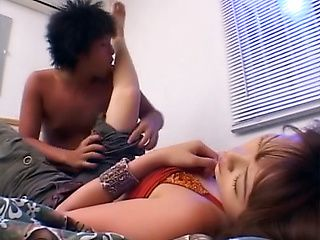 Hottie with perky boobs Asami Ogawa enjoys deep penetration