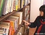 Misaki Saya Sltty Asian School Girl Masturbates In The Library