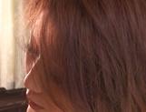 Appetizing Japanese mature model Nanako Yoshioka enjoys steaming sex picture 11
