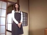 Appetizing Japanese mature model Nanako Yoshioka enjoys steaming sex