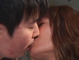 Beautiful mature chick Hikaru Nishino enjoys oral games and hot sex picture 3