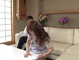Hungry stud touches Sawaki Erika wet spot with hard pecker picture 5