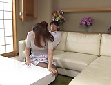 Hungry stud touches Sawaki Erika wet spot with hard pecker picture 6