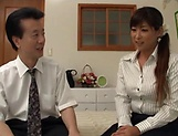 Steamy hot session with mature Asian bimbo
