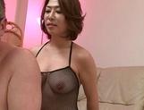 Chunky milf Shinobu Igarashi pussy licked