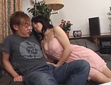 Miwako Yamamoto pleases her dude's dong good picture 11