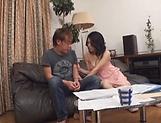 Miwako Yamamoto pleases her dude's dong good