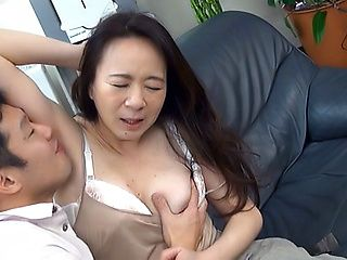Yuri Nihongi mature Asian babe gets hardcore rear fucking