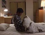 Arousing Japanese AV Model gets banged doggy style