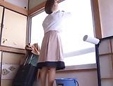 Mature Shinobi Igarashi has her pussy nailed picture 13