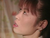 Hot Japanese mature woman seduces a young handsome guy picture 11