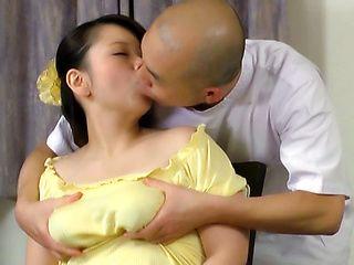 Superb lass Juna Ushigome looks amazing while she is fisted