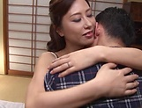 Charming Japanese AV model gets morning pounding picture 12