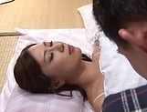 Charming Japanese AV model gets morning pounding