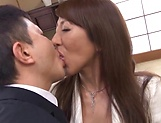 Screaming mature Rika Fujishita fucked while at the office picture 11