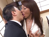 Screaming mature Rika Fujishita fucked while at the office picture 12