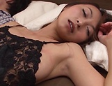Lusty Japanese AV model enjoys hardcore fucking