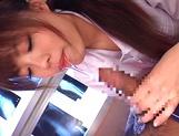 Sexy nurse China Yuki screwing really good