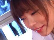China Yuki enjoys getting rammed amazingly