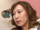 Hikari Kirishima enjoys wild shag in the clinic picture 13