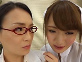 Sexy nurse fucks with the hot doc superbly picture 14