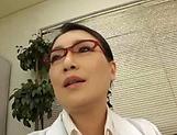 Sexy nurse fucks with the hot doc superbly