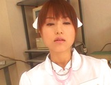 Naughty Japanese AV gal is a nurse banged by her patient picture 2