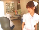 Naughty Japanese AV gal is a nurse banged by her patient picture 3
