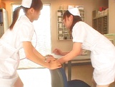 Naughty Japanese AV gal is a nurse banged by her patient picture 4