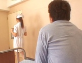Naughty Japanese AV gal is a nurse banged by her patient
