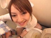 Alluring Asian barbie Ria Sakurai boked good