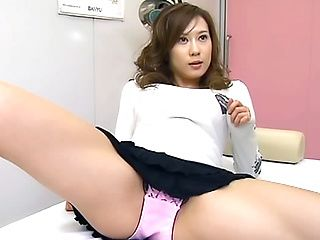 Alluring Japanese AV model is hot milf getting tit fuck