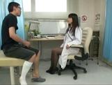 Ayaka Tomoda wild Asian nurse enjoys an amateur cock