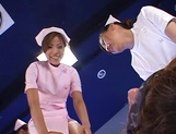 Group sex in insane scenes with amazing nurses  picture 11
