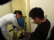 Steamy hot nurse getting her wet twat drilled well