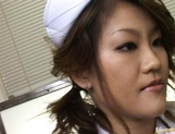 Yui Hanasaku hot Japanese nurse has cute sex picture 4