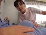 Horny nurses enjoying a delight-some fuck picture 3